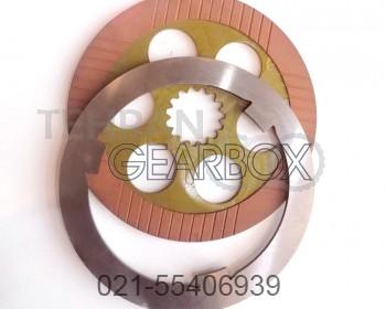 صفحه آهنی لنت چرخ کوماتسو